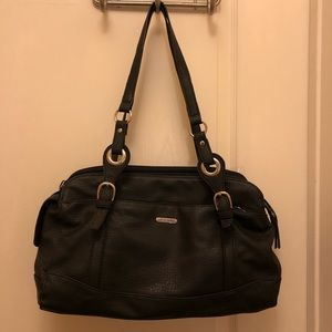 REFLECTIONS LEATHER HAND BAG